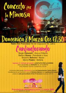 Concerto per la Mimosa – 8 Marzo 2020